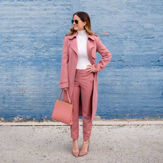 08ff55b0d47 Food Inspire  Blush Pink Monochromatic Outfit
