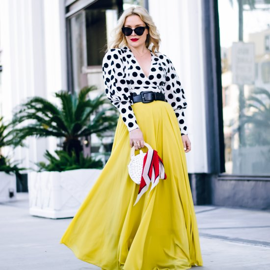 Yellow & Dots